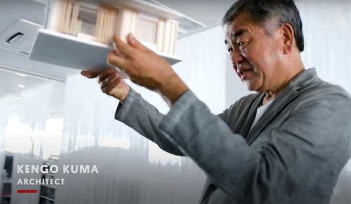 Documentary about Architect Kengo Kuma